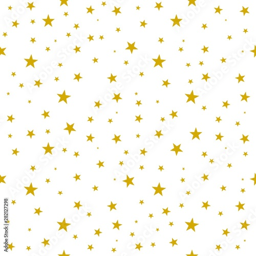 Tapety do Garderoby  seamless-background-with-stars-pattern-gold-yellow