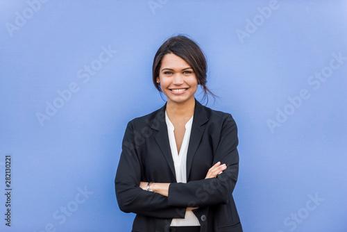 Businesswoman portrait - 282130221
