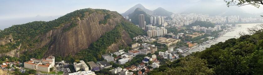 skyline of Rio de Janeiro, ...