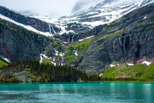 Grinnell Lake In Glacier Natio...