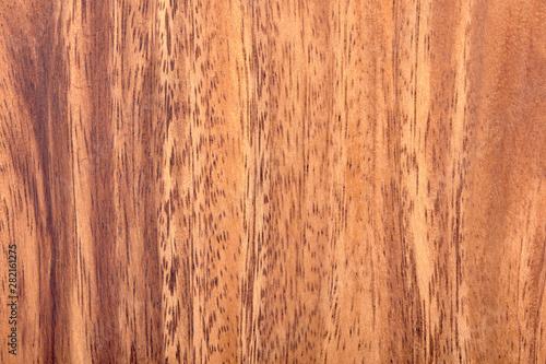 Closeup view of acacia wood texture background Canvas Print