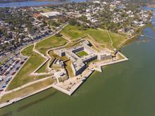 Aerial View Of Castillo De San...