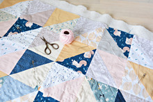 Hand Stitch Quilting Process: ...