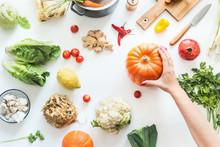 Healthy Food And Clean Seasona...
