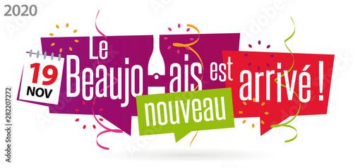 19 novembre 2020 : le Beaujolais nouveau est arrivé !