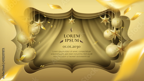 Foto  Creative frame for event and promotion advertisement