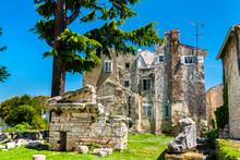Roman Ruins In Porec, Croatia