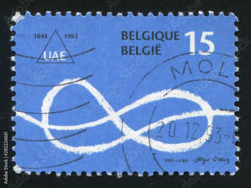 Photo  Free University of Brussels symbol