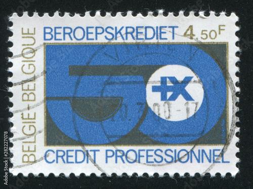 Professional Credit Emblem Canvas Print