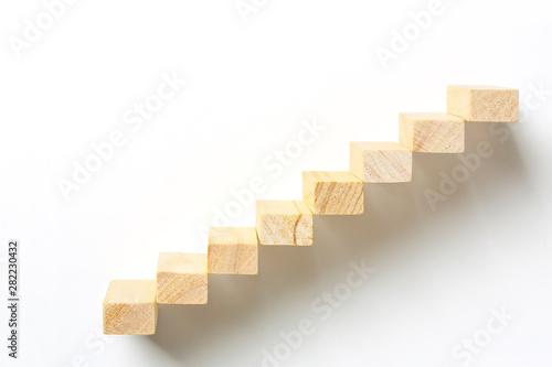 Fotografia wooden staircase