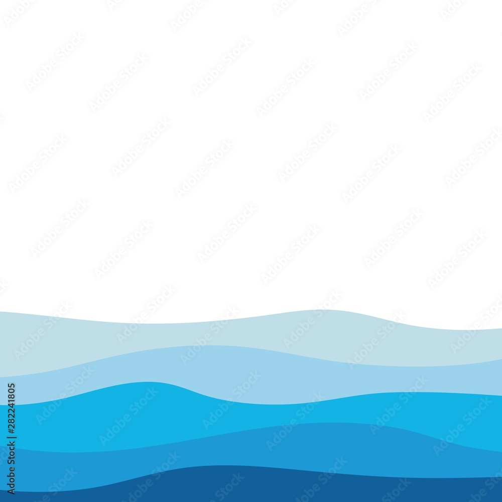 Fototapety, obrazy: Abstract Water wave design background