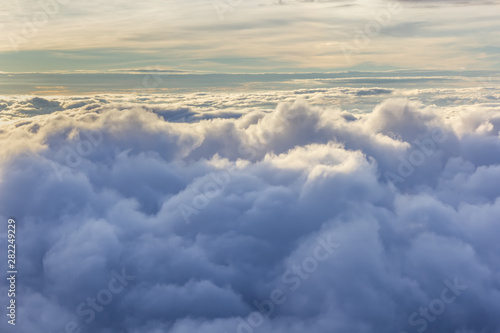 Foto op Plexiglas Hemel Clouds, beautiful background of nature in Thailand