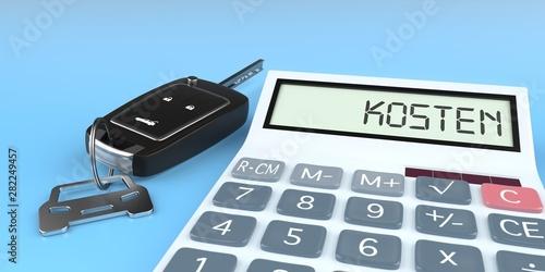 Photo Auto Kosten kalkulieren