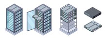 Isometric Servers, Data Storag...