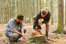 Man Training To The Forester I...