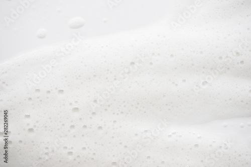 Fotografija  Abstract background white soapy foam texture