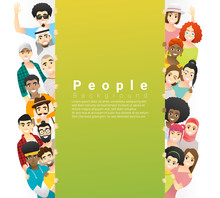 Diversity Concept Background ,...