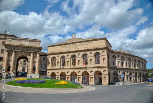 Fotografie, Obraz  Sferisterio theatre in Macerata In Italy