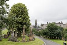 Glasgow Necropolis, Cathedral And Royal Infirmary - Glasgow, Scotland, UK