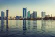 Sharjah skyline at sunny day, United Arab Emirates