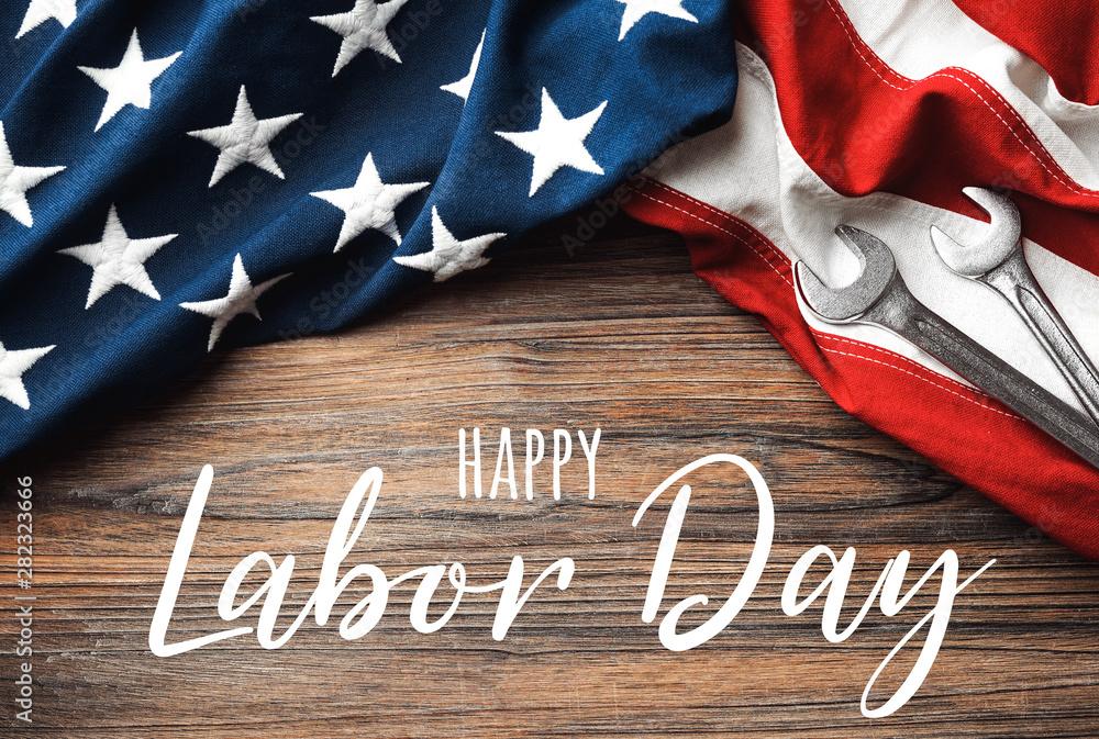 Fototapeta Happy Labor Day