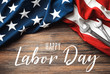 canvas print picture - Happy Labor Day