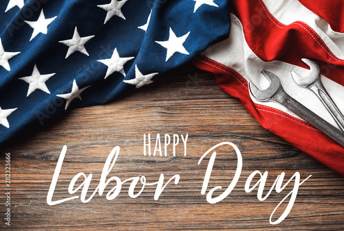 Poster Akt Happy Labor Day