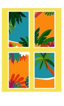 Poster Verão Sol Praia
