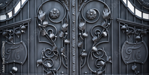 Metal Gate With Forged