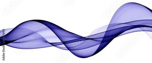 Photo Stands Abstract wave Color light blue abstract waves design