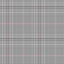 Glen Check Seamless Pattern Wi...