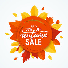 Fall Sale Promotion Design In ...
