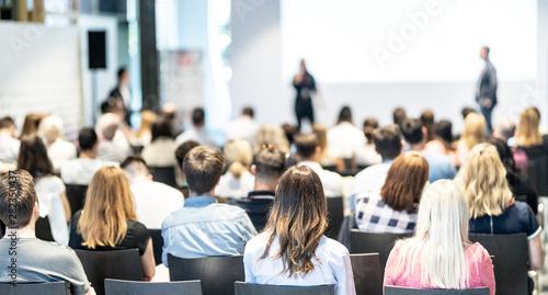 Slika na platnu Business and entrepreneurship symposium