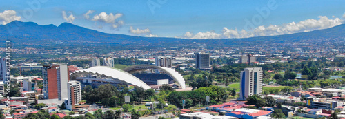 La Sabana Park and Costa Rica National Stadium Canvas Print