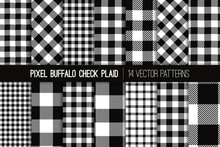 Black And White Buffalo Check ...