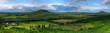 Landschaft um den Plattensee bei Veszprem, einer ungarischen Kleinstadt