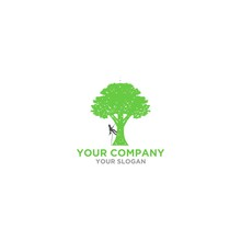 Arborist Tree Service Logo Des...