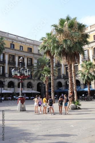 Staande foto Barcelona Barcelone - Place Royale