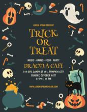 Happy Halloween Poster Backgro...
