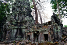 Ruins Of Ancient Temple In Cam...