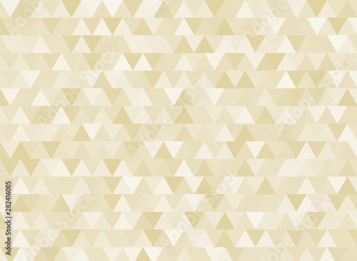 Yellow triangle abstract background design