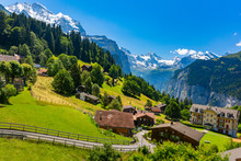 Mountain Village Wengen, Switz...