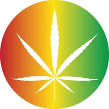 Cannabis Color Button