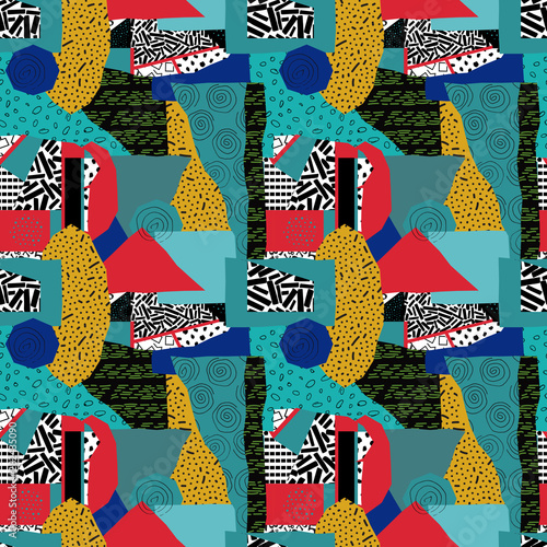 Canvastavla abstract seamless pattern