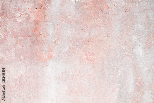 Fotomural  Old distressed pink wall background or texture