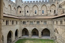 Cloisters And Courtyard At The...