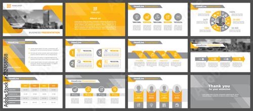 Fotomural  Presentation templates, corporate