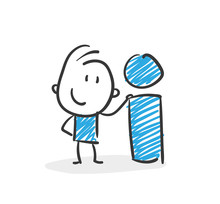 Stickman Blue: Information. (Nr. 4)