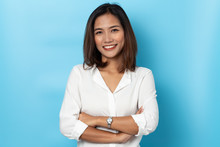 Portrait Business Woman Asian ...