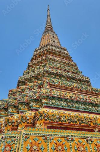 Wat Arun Ratchawararam Ratchawaramahawihan The Temple of dawn or short name is Wat Arun is among the best known of Thailand's landmark on the Thonburi west bank of the Chao Phraya River in Bangkok Yai